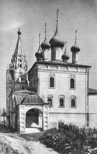 Гороховец. Троицко-Никольский храм, 1681