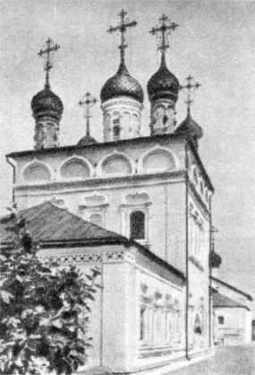 Гороховец. Холодная церковь Сретения Пресвятые Богородицы Владимирские. 1689
