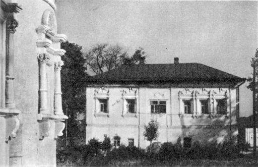 Гороховец. Южный фасад дома Опариных—Сериных. Конец XVII в.