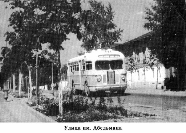 Ковров. Автобус на улице им. Абельмана