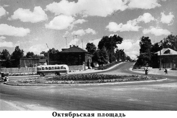 Ковров. Октябрьская площадь