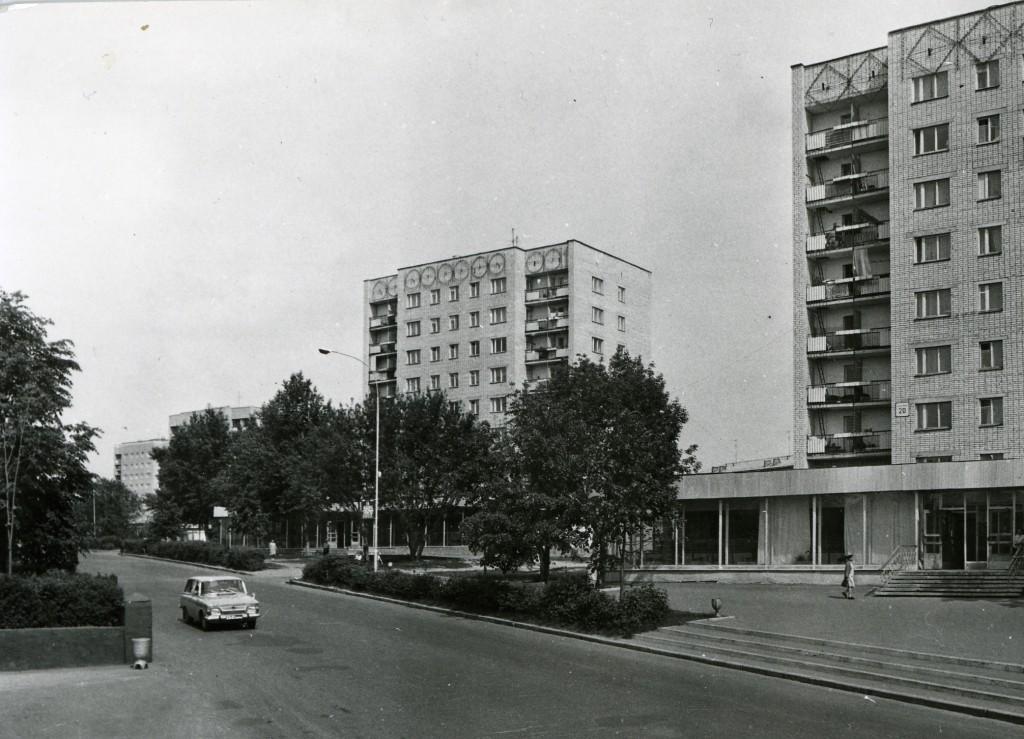 Многоэтажные дома на Вербовском
