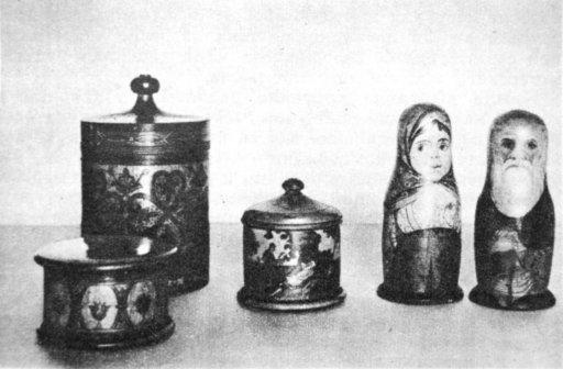 Расписные игрушки. 1920-е гг. Мстерский музей