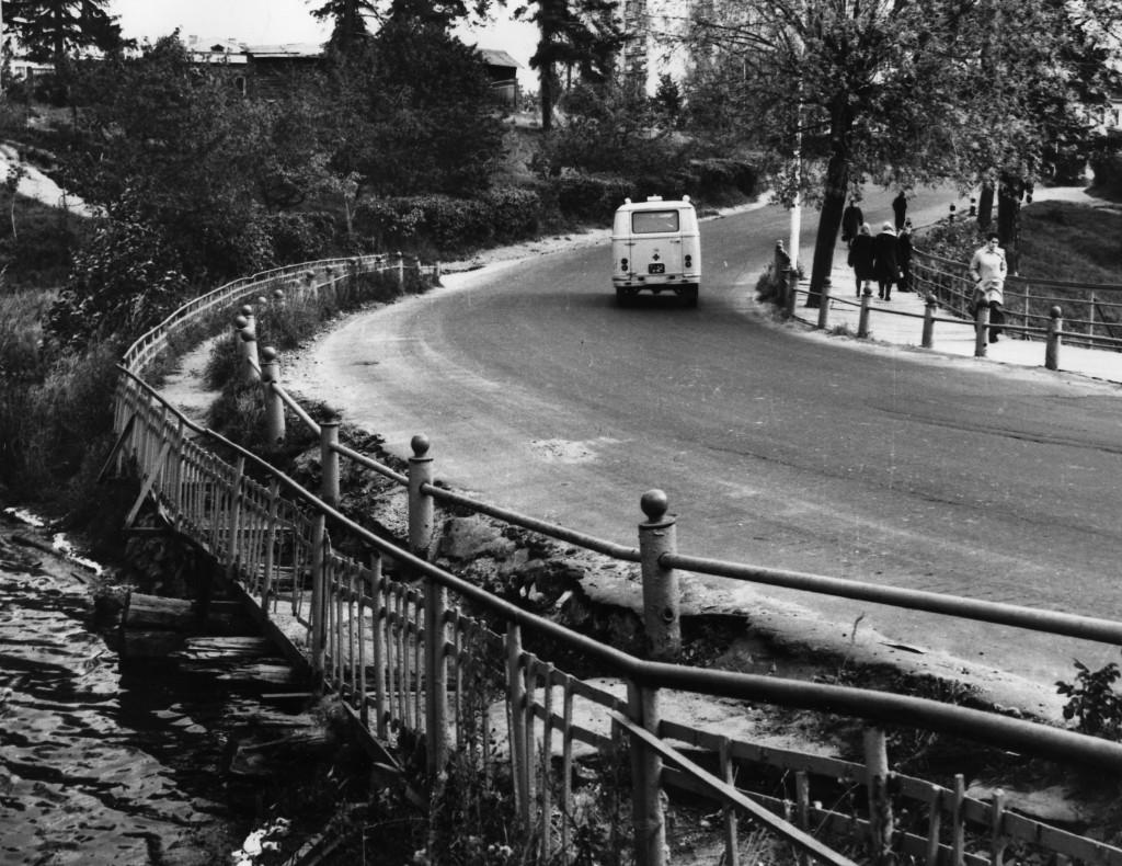 Старый мост на Вербовском