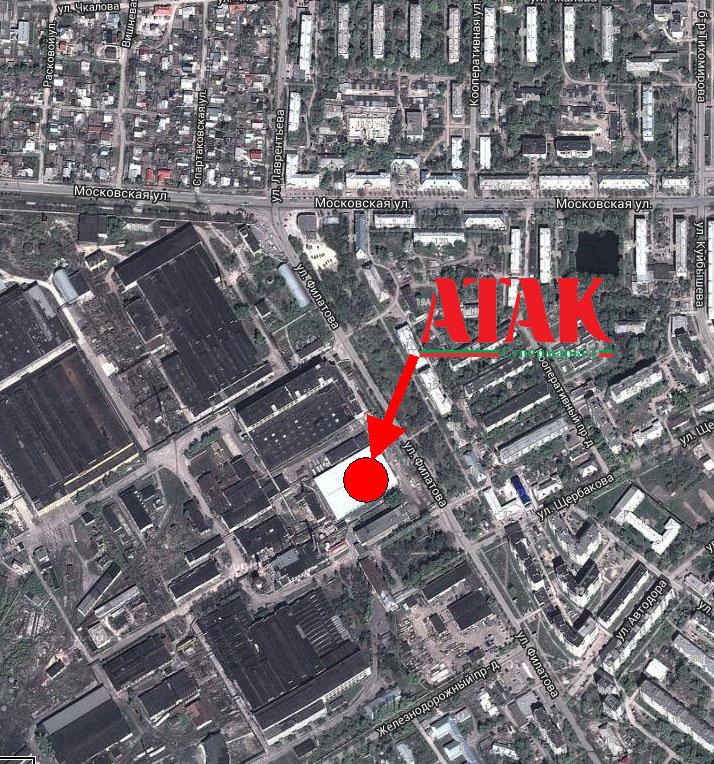 Супермаркет Атак в Муроме на карте