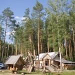 Летняя кухня на базе отдыха Мещерский скит