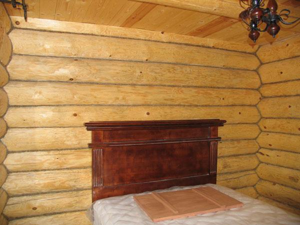 Спальня в двухместном домике. Мещерский скит