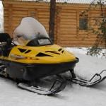 Экстремальный отдых на снегоходах на базе отдыха Мещерский скит