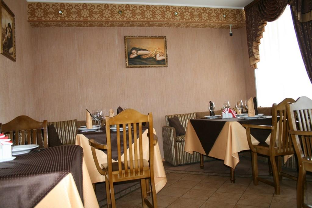 Гостинично-ресторанный комплекс Вирсавия 09. Банкетный зал в ресторане