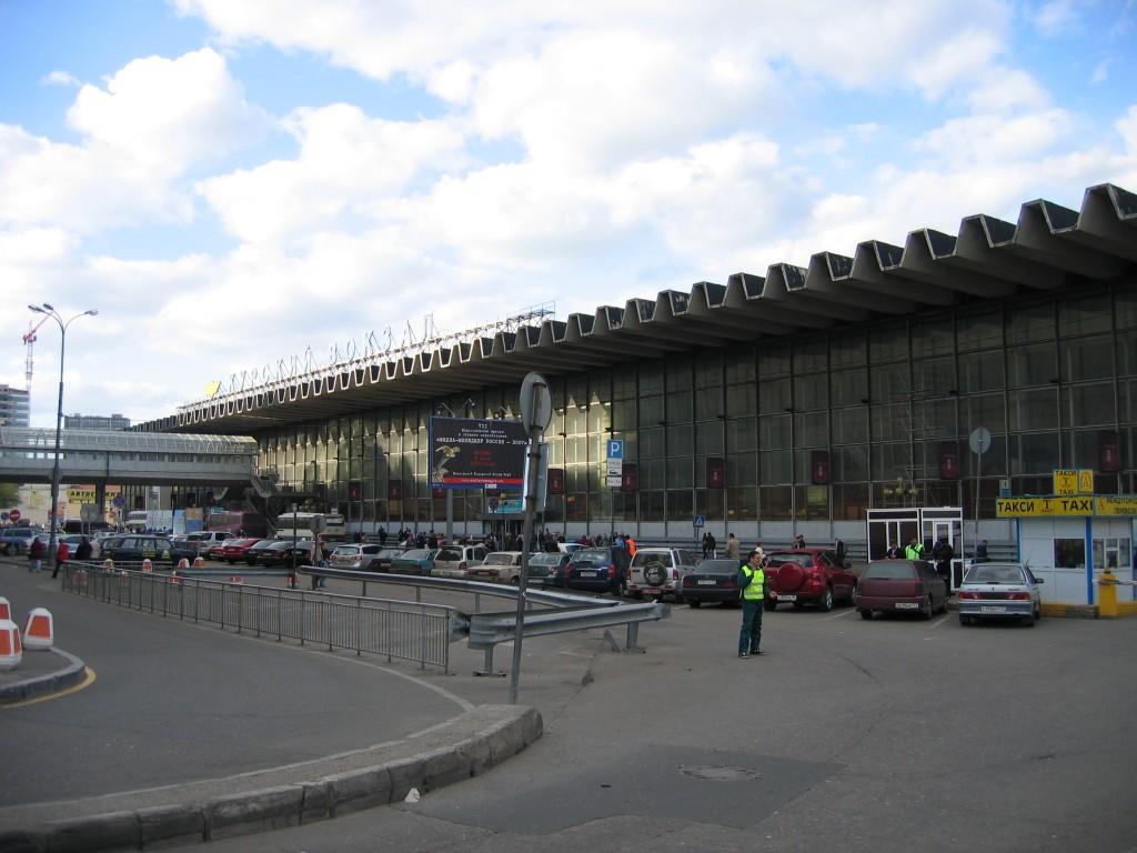 Курский вокзал Москвы, с которого можно доехать до Владимира.