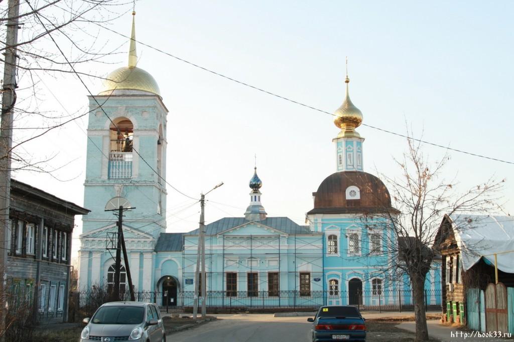 Муром. Ул. Красноармейская, 41а. Успенская церковь, 1811 г.