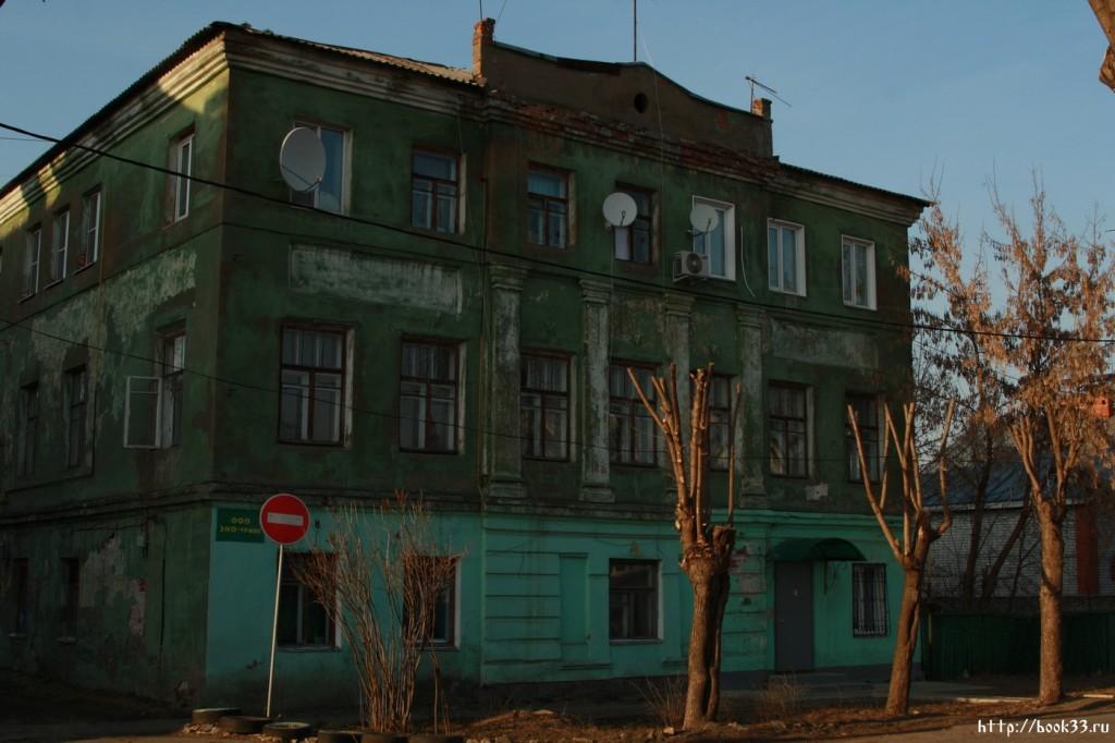 Муром. Ул. Красноармейская, 5. Дом купчихи Гладковой. 1832 г. (в муниципальной собственности)