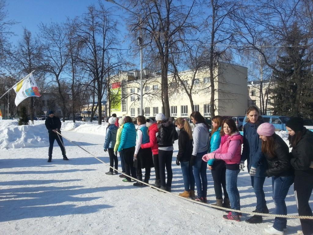 Трезвый город - Руская пробежка в Муроме в ноябре 2013 014