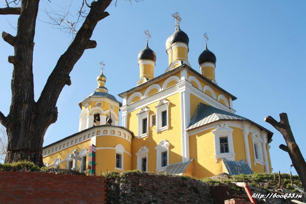 Виды церкви Николы-Мокрого Мурома