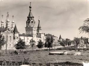 Площадь Крестьянина на старой открытке.