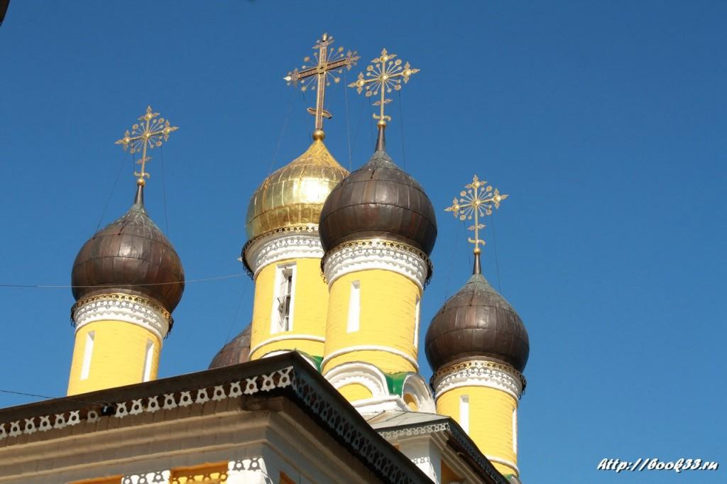 Купола Николо-Набережной церкви