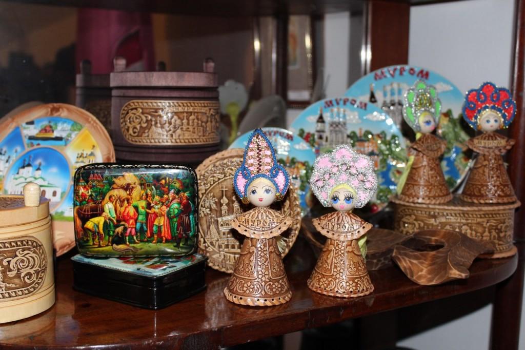Муромские сувениры - из бересты