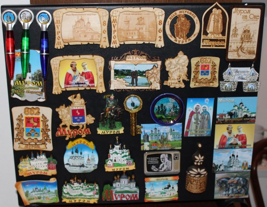Муромские сувениры - магнитики
