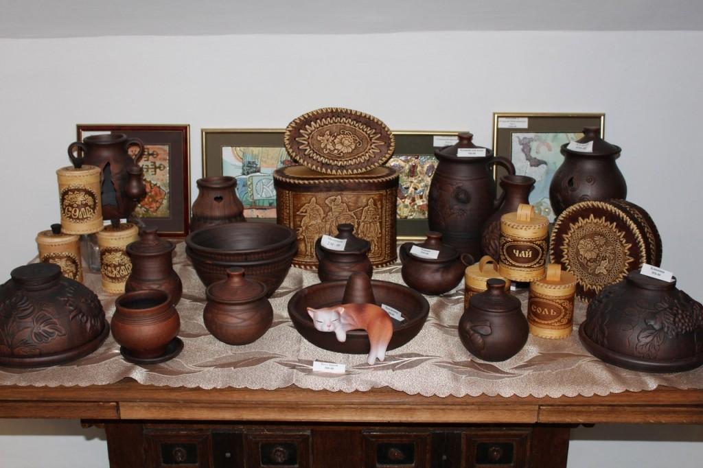 Муромские сувениры - Посуда из глины