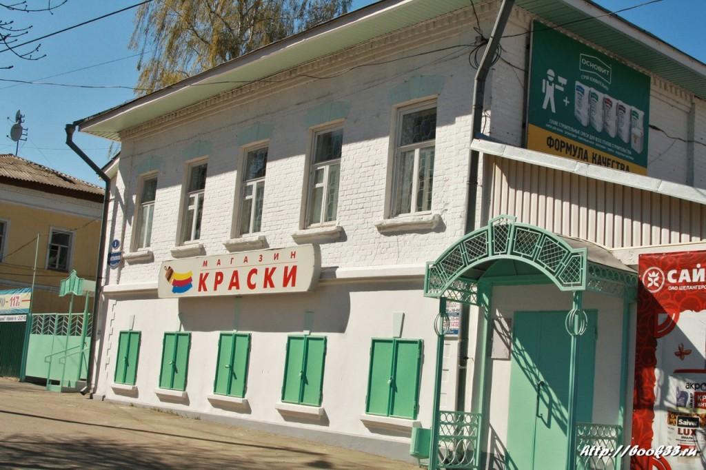 Муром, Площадь Крестьянина, 1. Дом купца Зворыкина. 1878 г. Выявленый объект