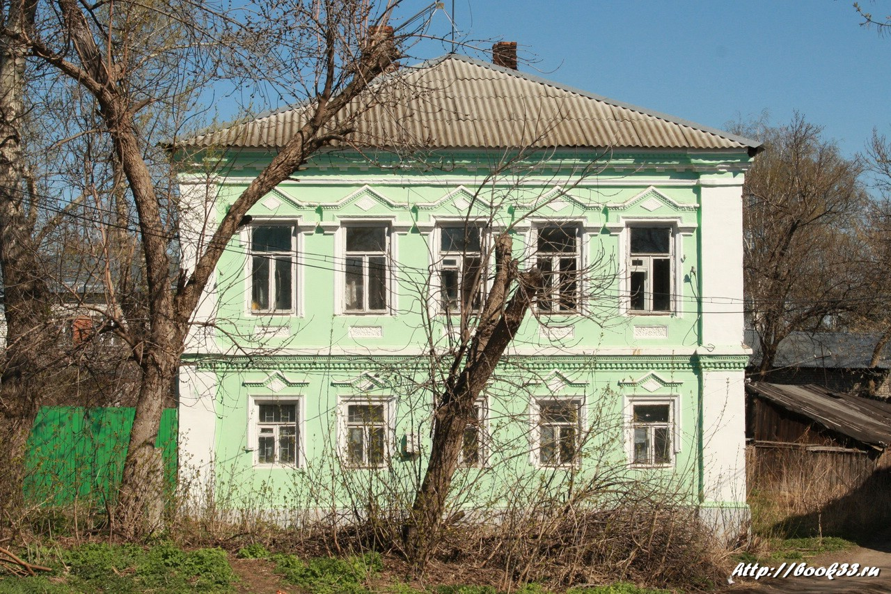 Дом жилой xix в выявленный объект