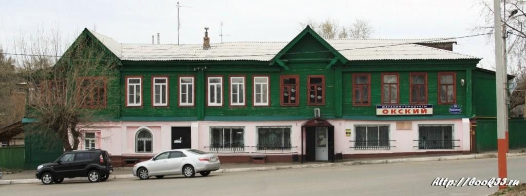 Муром, ул. Первомайская, 10. Дом Гладковых, XIX в. Выявленный объект