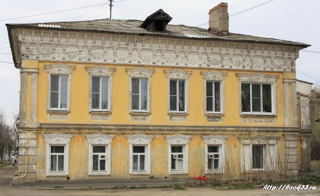 Муром, ул. Первомайская, 22. Дом купца Вощинина, 1846 г. Регионального значения