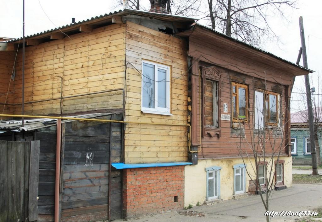 Муром, ул. Первомайская, 43. Дом купца Зворыкина, XIX в.  Местного значения