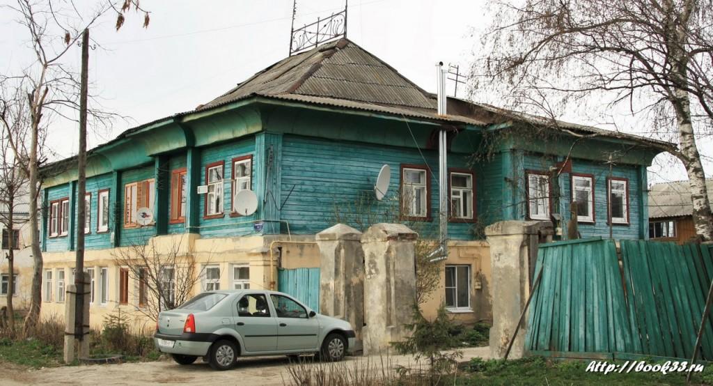 Муром, ул. Тимирязева, 10. Дом крестьянки Масловой, XIX в. (местного значения)