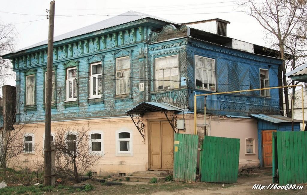 Муром, ул. Тимирязева, 12. Дом с флигелем купца Фортунатова, XIX в. (регионального значения) Второй дом