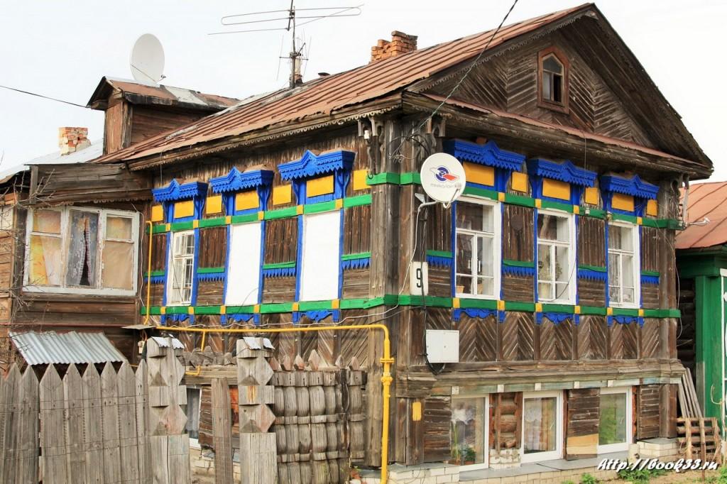 Муром, ул. Тимирязева, 9. Дом мещанина Масленникова, XIX в. (местного значения)