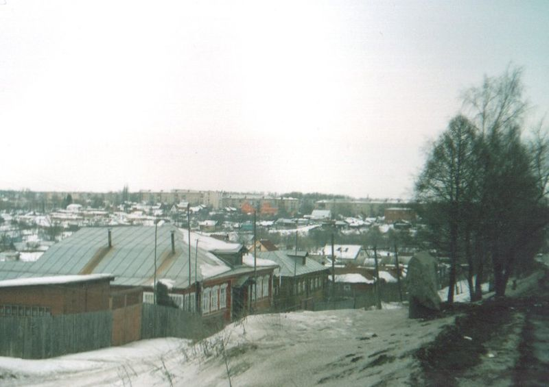 Панорама города Лакинска с Ундольской горы.