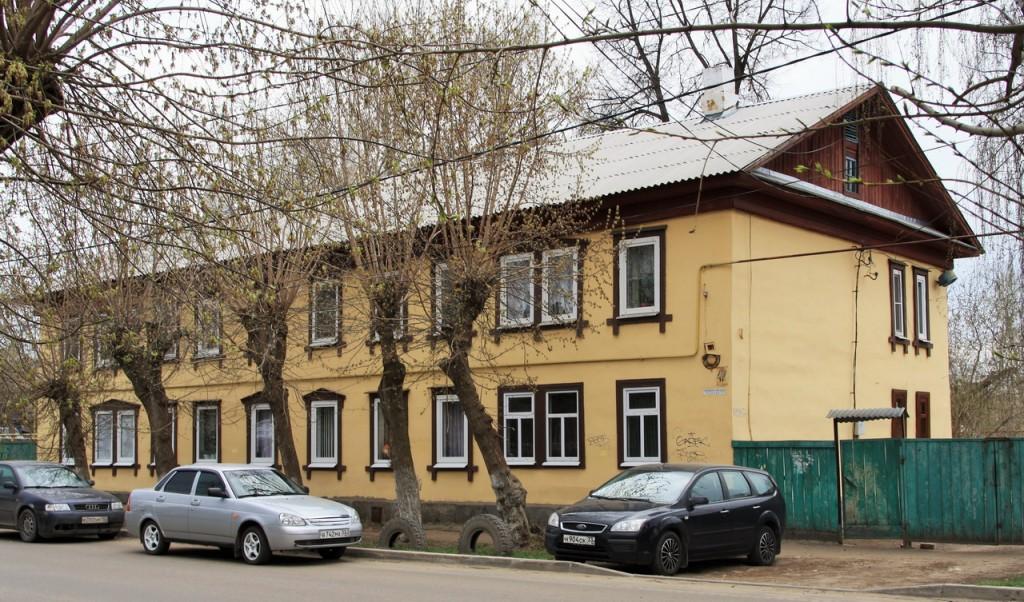 Современный дом на улице Первомайской в Муроме