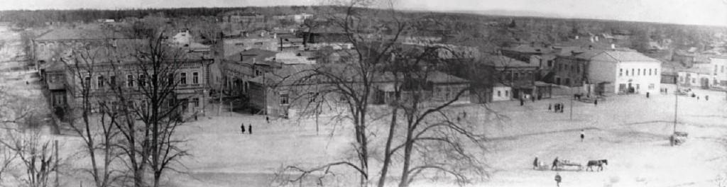 Центральная пл.Киржача,50-ые годы