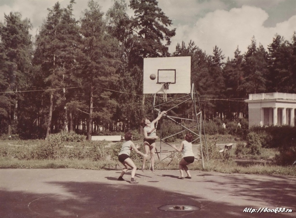 Баскетбол на Вербовском стадионе