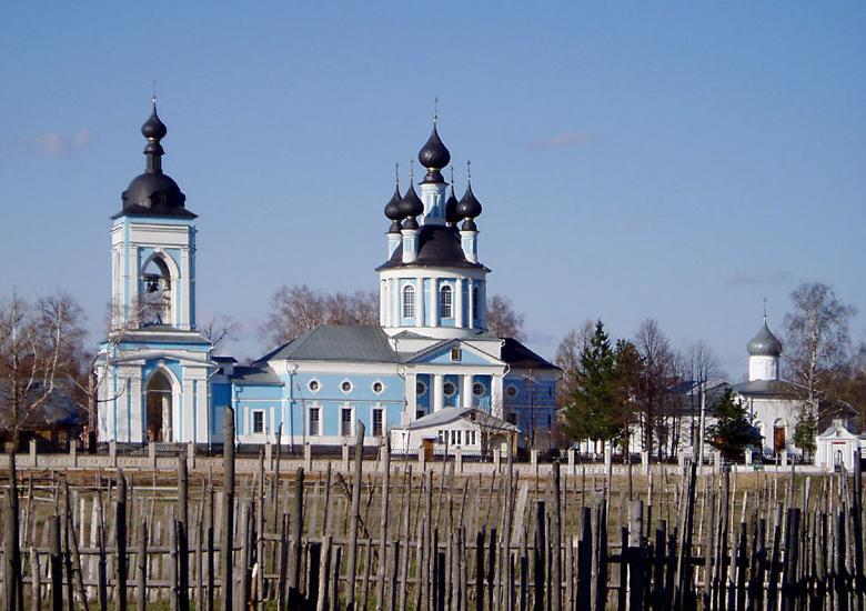 Дуниловский Успенский монастырь на месте упраздненной пустыни