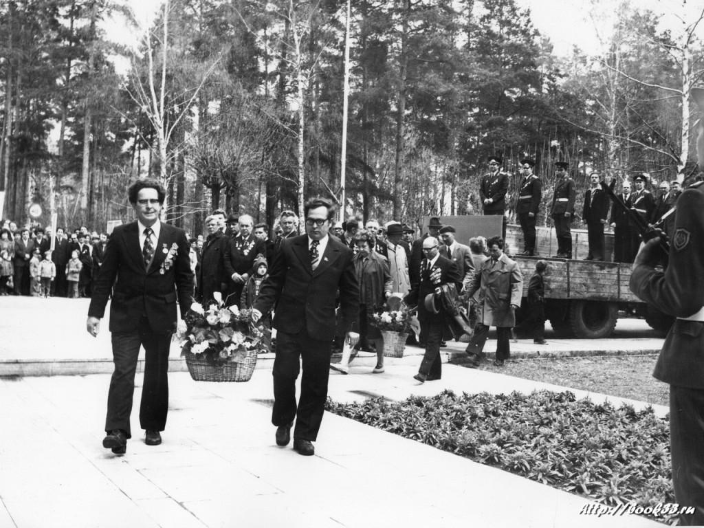 9 мая на Вербовском - возложение цветов