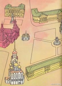 Владимирский кремль. Зарисовки Ч1