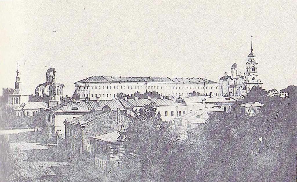 Город Владимир. Вид кремля