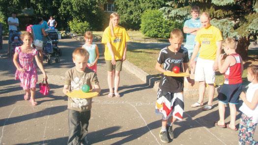 Игровая программа ко дню защиты детей в Муроме