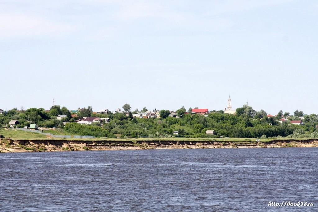 Панфилово Муромского района. Панорама