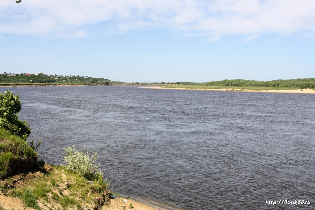 Река Ока близ Панфилова села