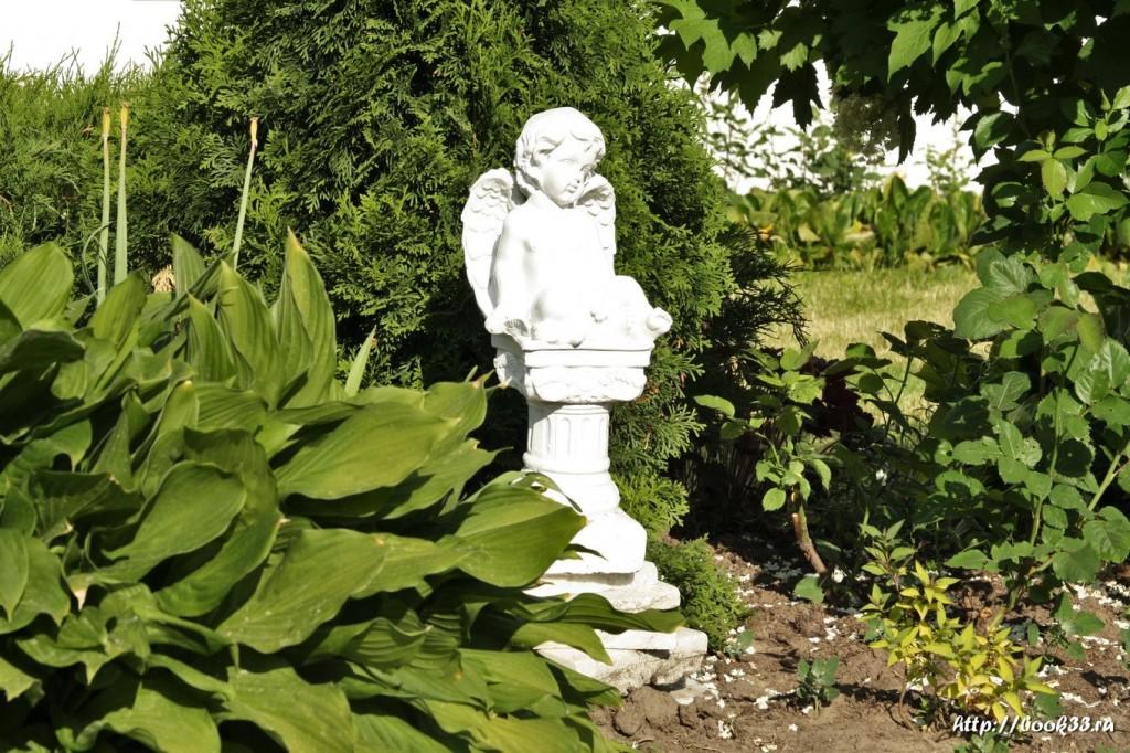 3816 Декорации Спасо-Преображенского монастыря в Муроме. Ангелочки