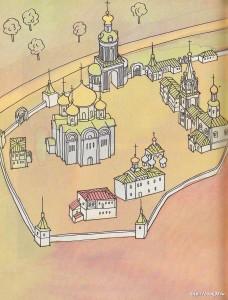 Боголюбово в старой открытке 01