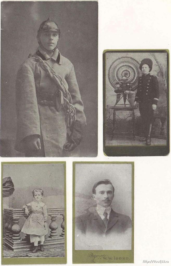 Владимир в старой открытке. Лица