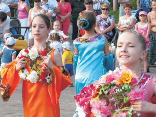 День семьи любви и верности на Вербовском 2014