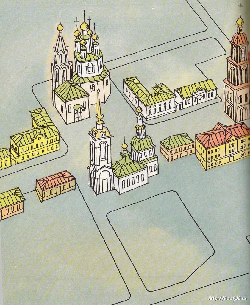 Нижегородская улица Владимира. Рисунок