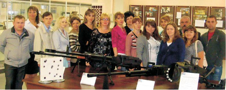 Экскурсия на ковровский завод имения Дегтярева
