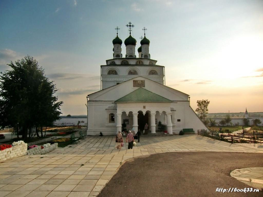 Богоявленский монастырь (Мстёра) Собор.