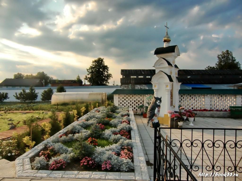 Богоявленский монастырь (Мстёра). Оформление - Сова.